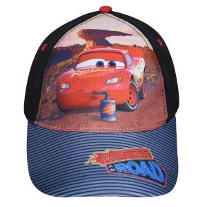 Παιδικό Καπέλο Jockey Cars Μαύρο