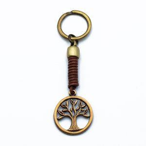 Χειροποίητο Μπρελόκ με Δέντρο Ζωής Διάτρητο KL09-284