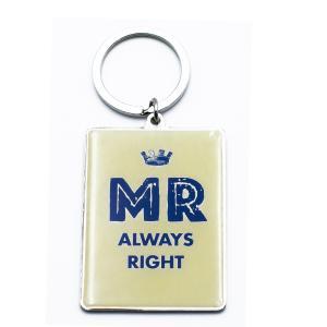 Μπρελόκ Mr Always Right KR107