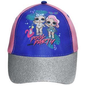 Παιδικό Καπέλο Jockey LOL Ροζ