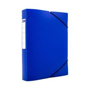 Κουτί με Λάστιχο Metron 25Χ35Χ5 Ματ Μπλε