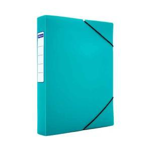 Κουτί με Λάστιχο Metron 25Χ35Χ5 Ματ Πράσινο