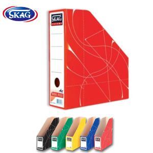 Κουτί Κοφτό χάρτινο  BOX LIFE ΚΟΚΚΙΝΟ SKAG Α4 32x27x9cm .