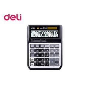 Αριθμομηχανή Deli 12 Ψηφίων Μαύρη 173.2X134.6X41.2