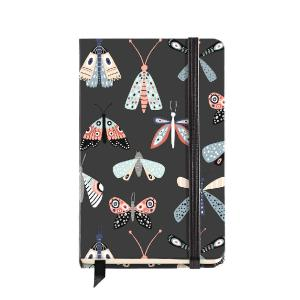 Σημειωματάριο με Λάστιχο 100Φ 9Χ14 Miquelrius Wings Naturally 8019