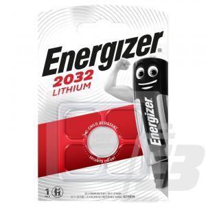 Μπαταρία Buttoncell Lithium Electronics Energizer 1Τεμ. CR2032