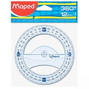 Μοιρογνωμόνιο Maped Technic 360ο 12cm 242360