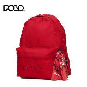 Σακίδιο Μονοθέσιο Κόκκινο POLO ORIGINAL SCARF  901135-03-00 BACKPACK