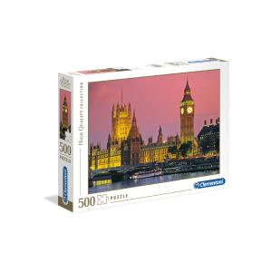 Puzzle Clementoni High Quality Collection London 500τεμ 30378
