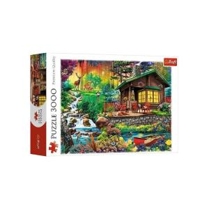 Puzzle Trefl Cottage in the Woods 3000τεμ 33074