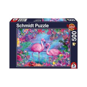 Puzzle Schmidt Flamingo 500τεμ 58342