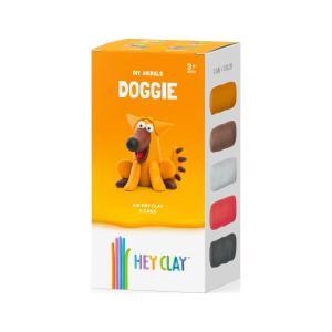 Δημιουργικό παιχνίδι με πηλό!  Hey Clay Claymates Σκυλάκι Πολύχρωμο 440022