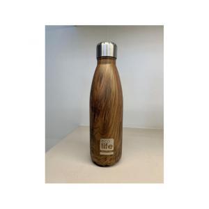 Θερμός Μεταλλικό Μπουκάλι Ecolife Wood 500ml  33-ΒΟ-3022