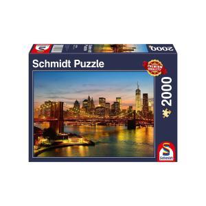 Puzzle Schmidt Jigsaw Νέα Υόρκη 2000τεμ 58189