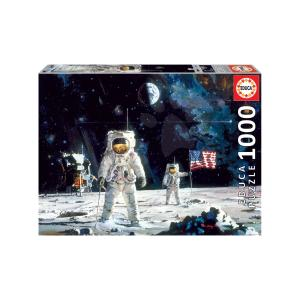 Puzzle Educa First Men of the Moon - Αστροναύτες 1000τεμ 18459
