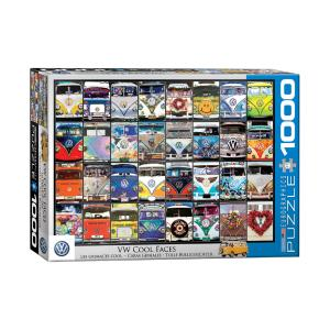 Puzzle Eurographics VW Bus Cool Faces 1000τεμ 6000-0870