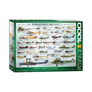 Puzzle Eurographics World War I Aircraft 1000τεμ 6000-0087