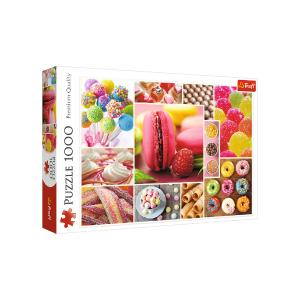 Puzzle Trefl Candy Collage 1000τεμ