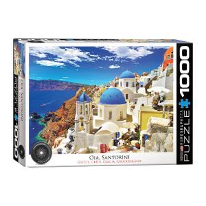 Puzzle Eurographics Santorini Greece HDR Photography Series 1000τεμ 6000-0944