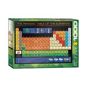 Puzzle Eurographics The periodic Table of the Elements 1000τεμ 6000-1001