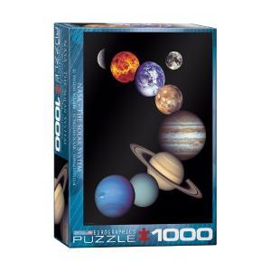 Puzzle Eurographics Nasa The Solar System 1000τεμ 6000-0100
