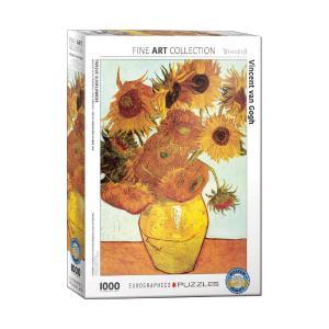 Puzzle Eurographics Twelve Sunflowers by Van Gogh 1000τεμ. 6000-3688