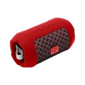 Φορητό Ηχείο Bluetooth Maxton Masaya MX116 3W Κόκκινο με Ανοιχτή Ακρόαση, Audio-in, MicroSD και FM Radio