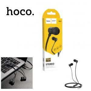 Hands Free Hoco M63 Ancient Sound Earphones Stereo 3.5 mm Μαύρα με Μικρόφωνο και Πλήκτρο Λειτουργίας