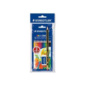 Ξυλομπογίες Staedtler Bonus Pack Μολύβι & Γόμα 12 ΤΕΜ