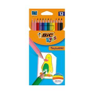 Ξυλομπογίες Bic Kids Tropicolors 12τεμ 8325666