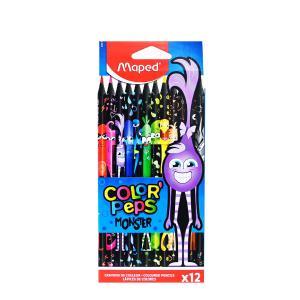 Ξυλομπογίες Maped Monsters Colorpeps 12τεμ 862612