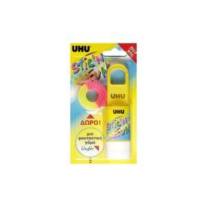 Κόλλα με Γόμα Uhu Stick & Fun 20gr