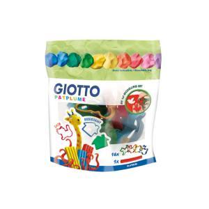 Εργαλεία Πλαστελίνης - Φόρμες Giotto Patplume σε Blister 16τεμ