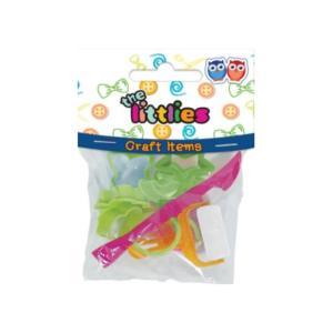 Εργαλεία Πλαστελίνης - Φόρμες The Littlies 10τμχ 0646649