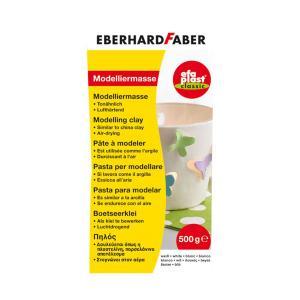 Πηλός Eberhard Faber 500gr Λευκός