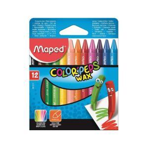 Κηρομπογίες Ζωγραφικής Maped Colopeps Wax 12 TEM