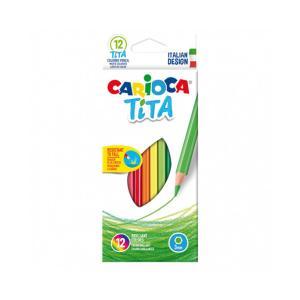 Ξυλομπογίες Ζωγραφικής Carioca Tita 3mm 12τεμ 42793