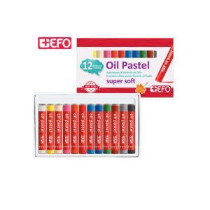 Λαδοπαστέλ Efo 12 Χρώματα 325412