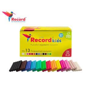 Πλαστελίνη Record Kids 13τεμ 720gr