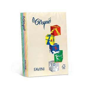 Α4 Φωτοτυπικό Χαρτί σε Διάφορα Παστέλ Χρώματα Favini Mix Pal 500 Φύλλα 80 gsm