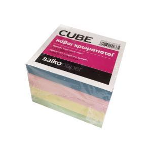 Κύβος Ανταλλακτικό Χρωματιστός Salko 800 Φύλλα 9Χ9