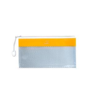 DL Τσαντάκι πλαστικό με φερμουάρ μονόχρωμά Typotrust 11×22