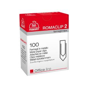 RomaClip MAESTRI No2  συνδετήρες μεταλλικοί 100τεμ