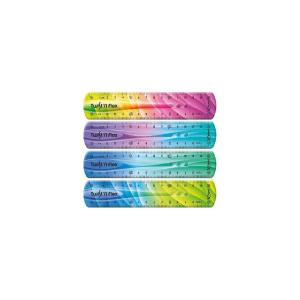 Χάρακας Maped twist΄n flex decor δίχρωμος διάφορα χρώματα 15cm  279115