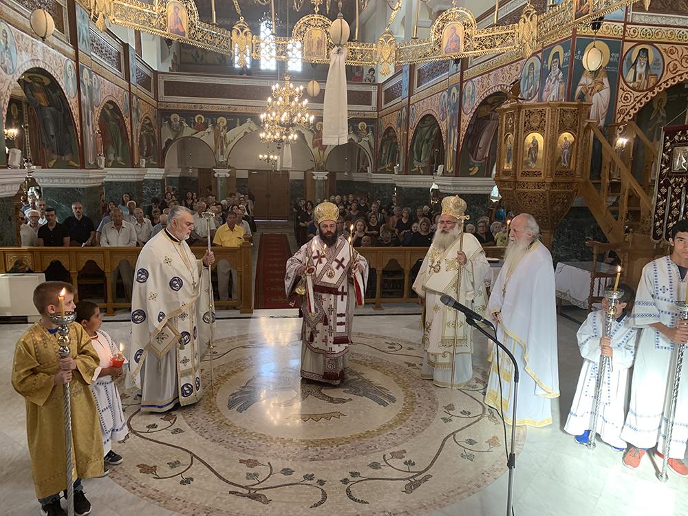 Αρχιερατικό Συλλείτουργο στον Ιερό Ναό Ευαγγελισμού της Θεοτόκου Σητείας