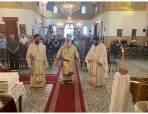Το ετήσιο μνημόσυνο του μακαριστού Πρωτ. Στυλιανού Πατεράκη στον Ι. Ναό Αγίας Τριάδος Καβουσίου