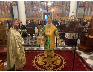 Αρχιερατική Θεία Λειτουργία και χειροθεσία Αναγνώστου στον Ιερό Καθεδρικό Ναό Αγίας Αικατερίνης Σητείας