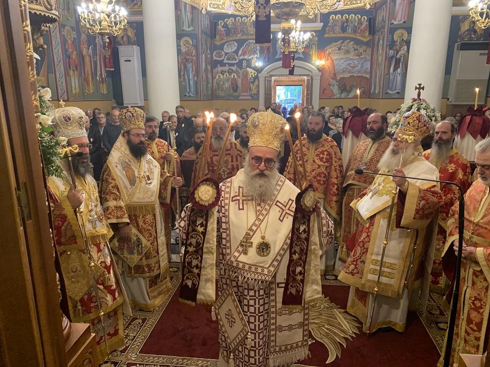 Λαμπρός ο εορτασμός του Ιερού Καθεδρικού Ναού Αγίας Αικατερίνης, πολιούχου και προστάτιδος της πόλεως Σητείας. Απονομή Οφφικίου Πρωτοπρεσβυτέρου στον π. Νικόλαο Παθιάκη