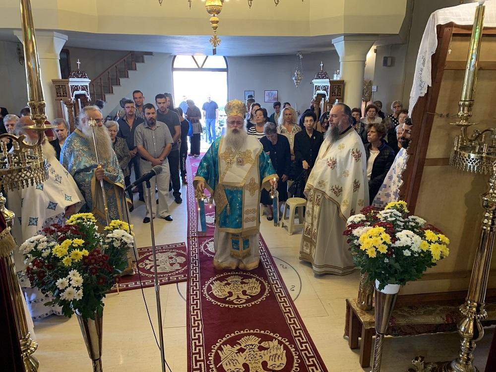 Αρχιερατική Θεία Λειτουργία στον πανηγυρίζοντα Ιερό Προσκυνηματικό Ναό του Μιχαήλ Αρχαγγέλου Ιεράπετρας