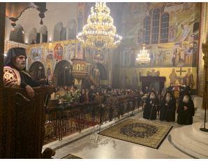 Ο Σεβ. Μητροπολίτης Ιεραπύτνης και Σητείας στην πανήγυρη του Ιερού Καθεδρικού Ναού Αγίου Νικολάου Αρετσούς στην Καλαμαριά